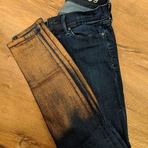 Gap copper bottom jeans 24